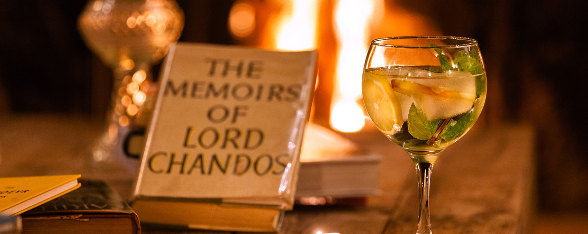 gin and fireplace – the literary man obidos hotel