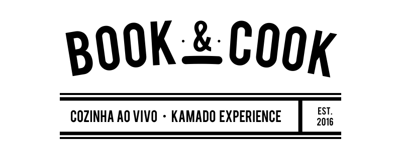 logo book and cook